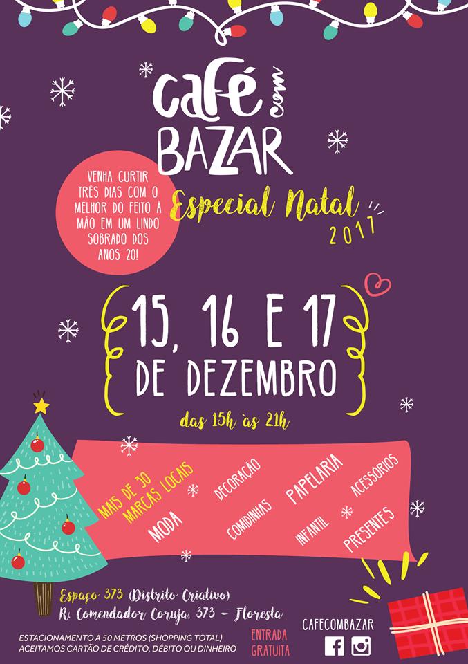 Café com Bazar Natal