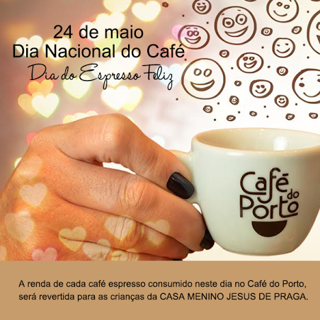 Dia do Espresso Feliz do Café do Porto